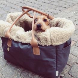 Walder (Hundetasche City Carrier Heather Brown)