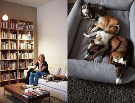 Katharina & Luise, Harry, Fritz, Gretel, Harry, Fritz, Gretel with Dog Bed Sleepy