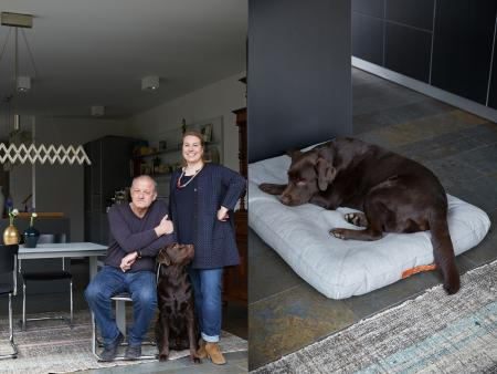Leonard, Maren & Arthur, Arthur with Dog Bed Dream