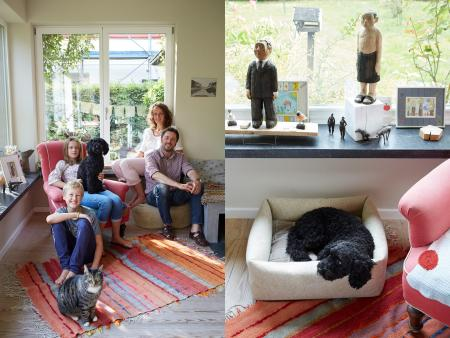 Miri, Volker, Fanny, Wenzel, Butzi & Billy, Billy with Dog Bed Little Nap