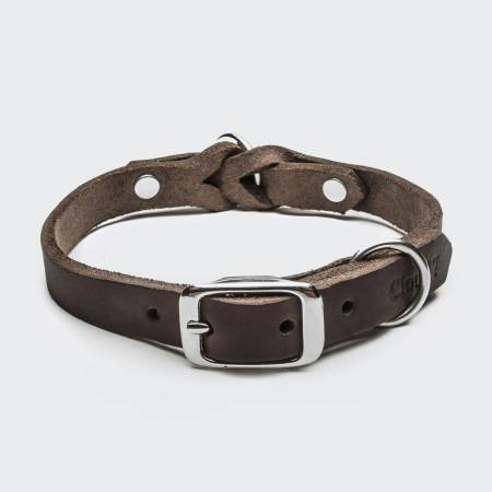 Hundehalsband Riverside Park Saddle Brown