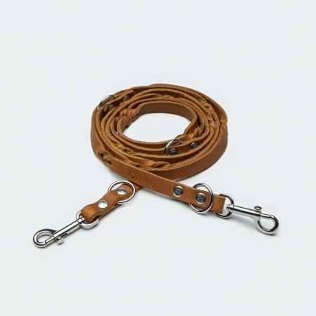 length adjustable dog leash extra slim