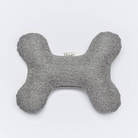 Grey Dog Toy Bone