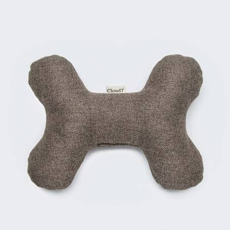 Dog Toy bone in natural colour