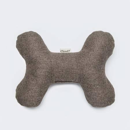 Stoffknochen als Hundespielzeug in natürlicher Farbe