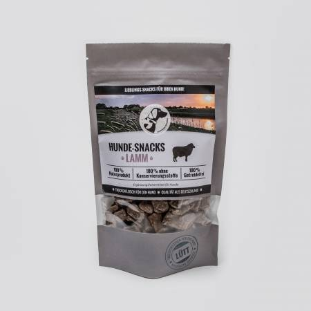 Dog Snacks Lütt - Dry Meat Lamb