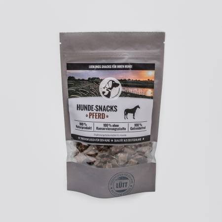 Dog Snacks Lütt - Dry Meat Horse