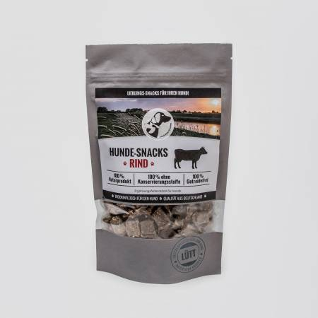 Dog Snacks Lütt - Dry Meat Beef