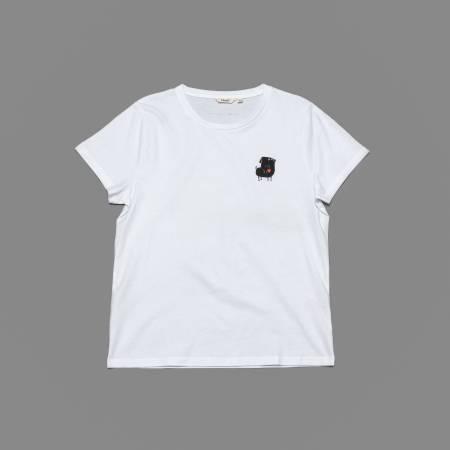 RESC7UE T-Shirt Heart White
