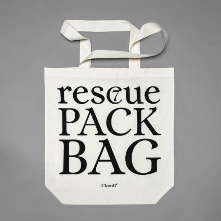 Charity Stofftasche mit Siebdruck auf Bio-Baumwolle