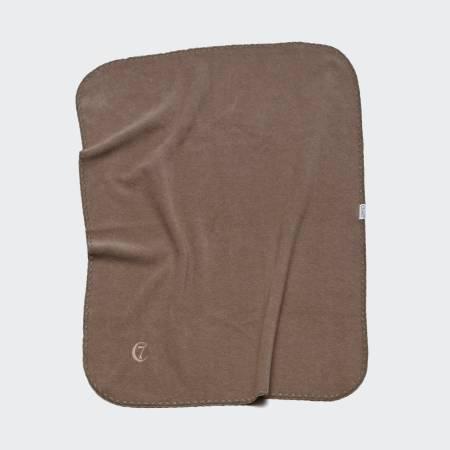 Sand coloured fleece blanket for dogs
