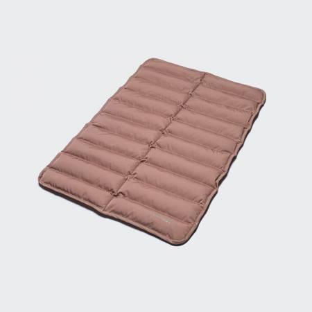 light pink padded dog mat