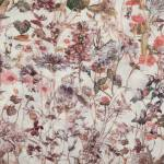 Bandana mit Blumenmuster in der Farbrichtung Rosa