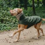 Hundemantel Brooklyn Flanell Fern Green