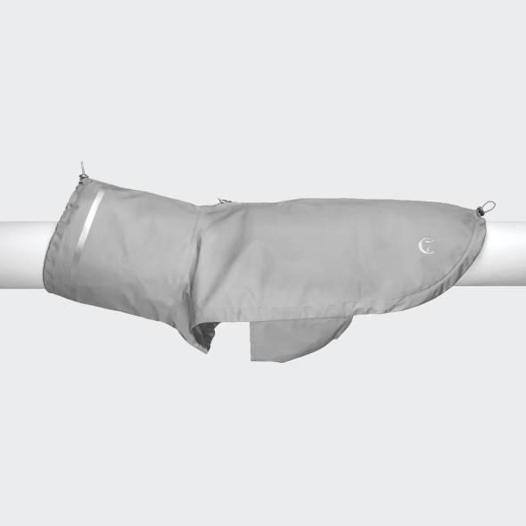 Hunde Regenmantel London Grey