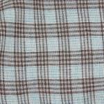 Cloud7 Bandana Check Braun - Cyan Farbe