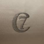 Cloud7 Hunde Bett Sleepy Organic Canvas Sand C7 Logo