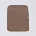 Ausgebreitete hellbraune Hundedecke