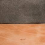 Hundetasche Roma Canvas - Leder