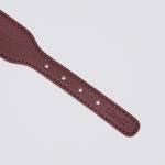 Cloud7 Hunde Halsband Vondelpark Burgund Detail