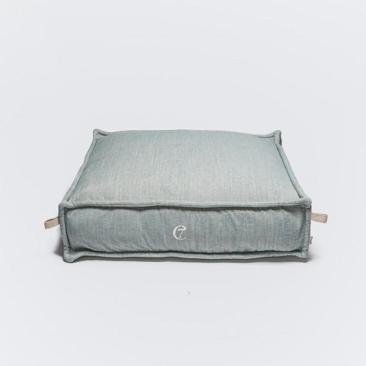 Dog Bed Cozy Mélange Aqua