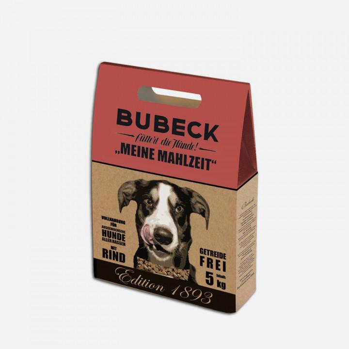 Getreidefreies Trockenfutter für Hunde Rind