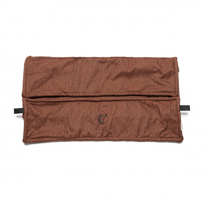 Wechselbezug Cozy Fishbone Rust
