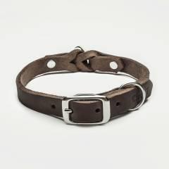 Cloud7 Hunde Halsband Riverside Park Saddle Brown