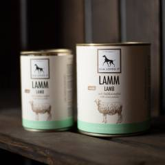 Hundefutterdose Lamm mit Süßkartoffeln von Lila loves it