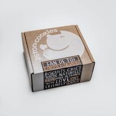 Hundekeks Box Karotte - Koriander