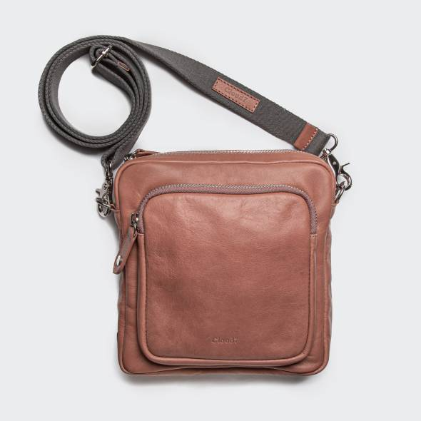 Crossbody Bag Leather Rose