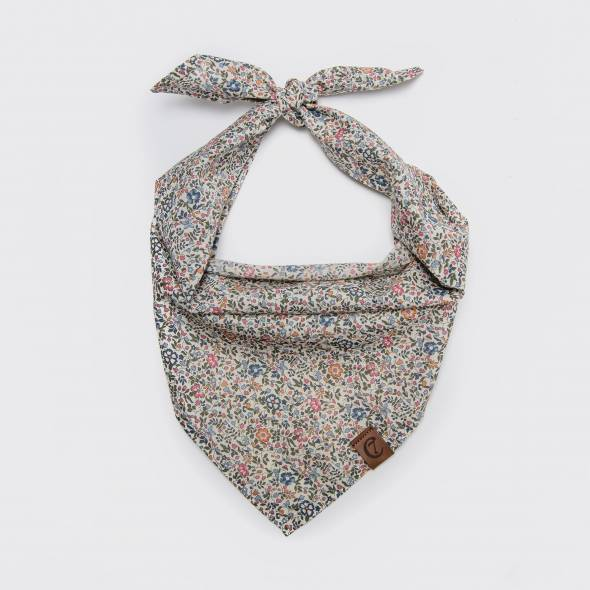 Cloud7 Bandana fabric scarf Mille Fleurs with flower pattern