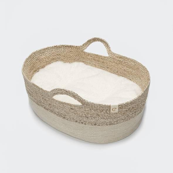 Cuddly dog basket