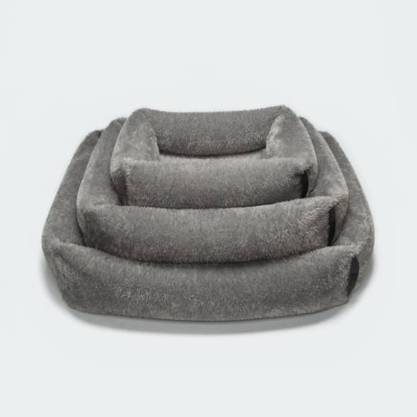 Dog Bed Sleepy Plush Grey