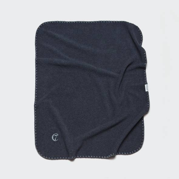 ultra soft dark grey fleece blanket for dogs