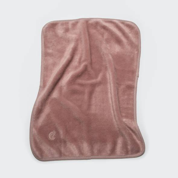 light pink dog blanket