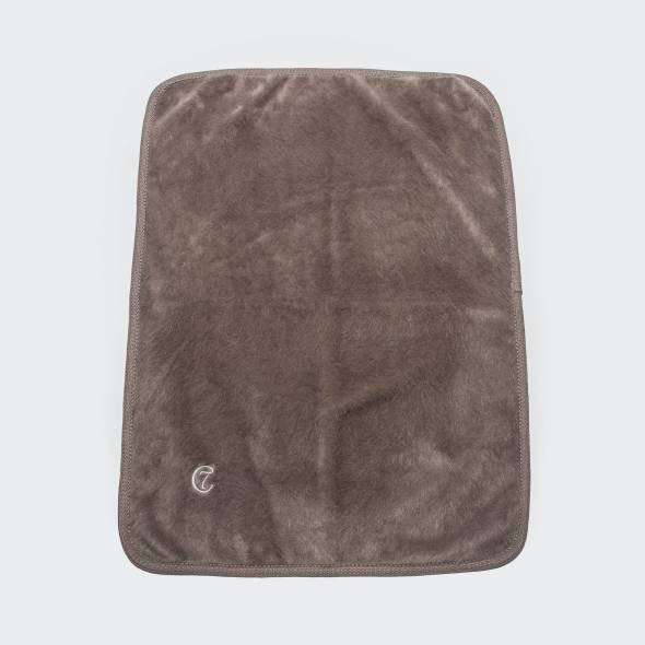 soft warm brown dog blanket