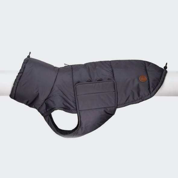 Dog coat in dark grey