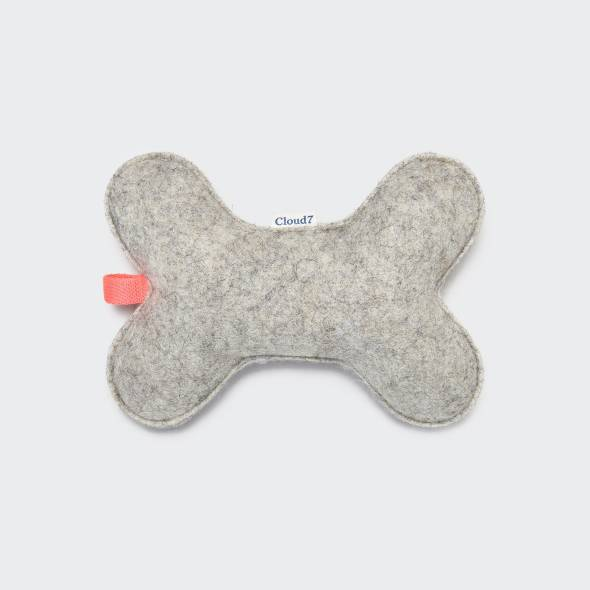 Cloud7 Dog Toy Felt Bone