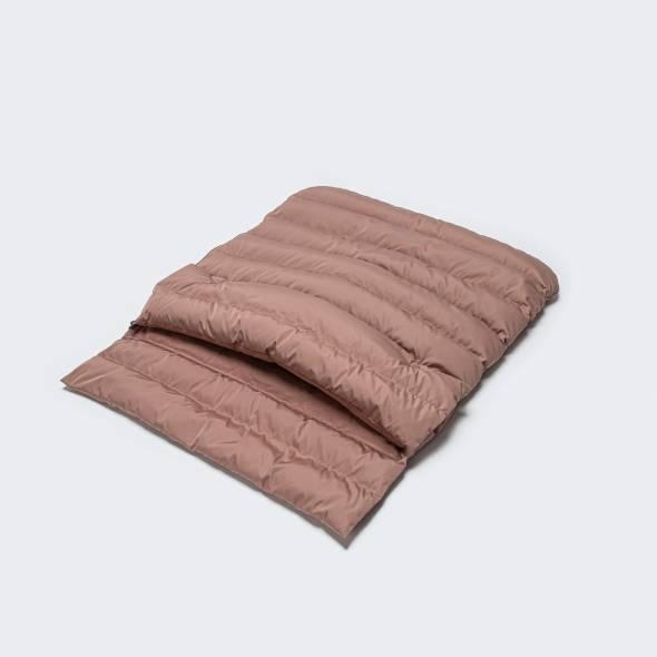 Wattierter Hundeschlafsack in Rosa