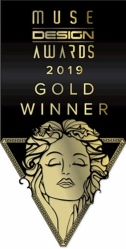 Cloud7 Auszeichnung Muse Design Award 2019 Gold Winner