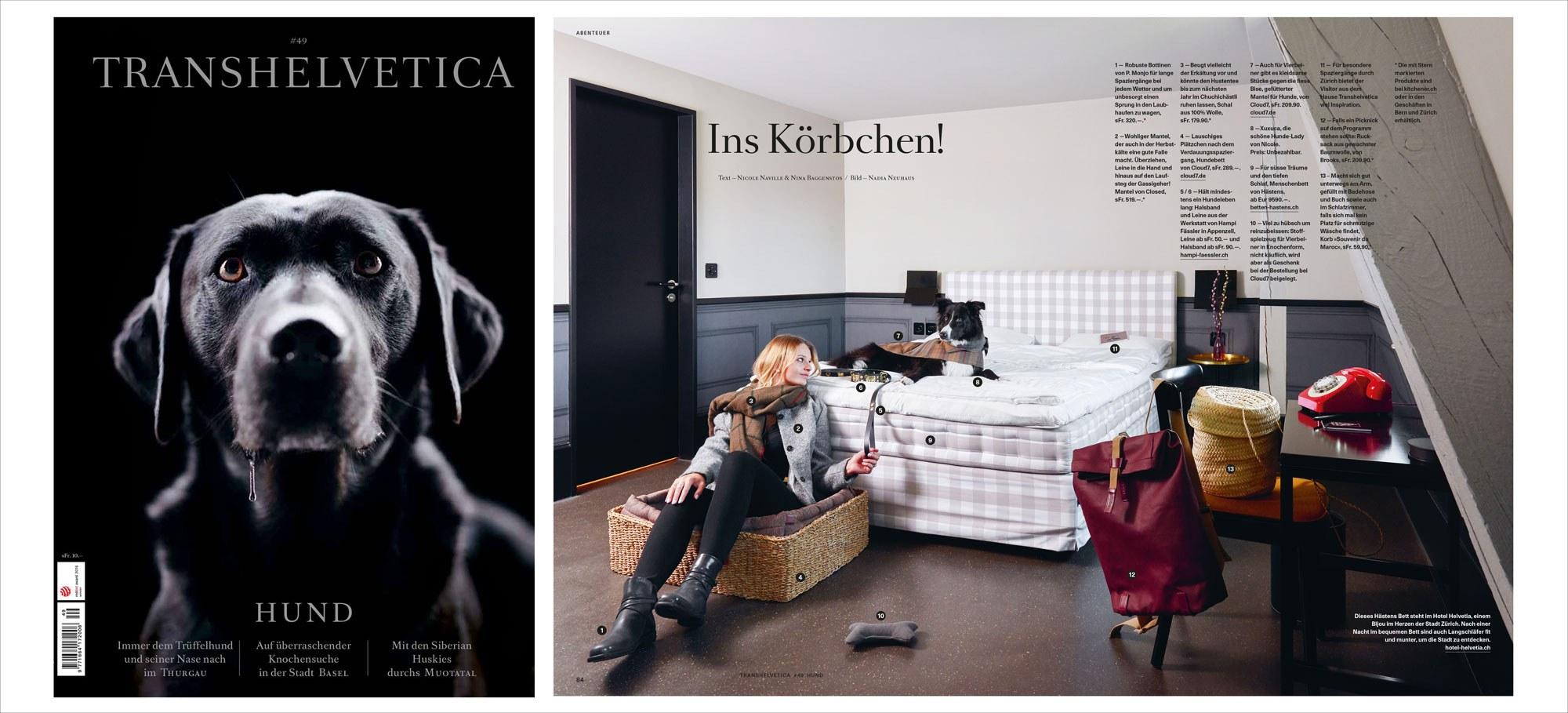 Swiss Travel Magazine Transhelvetica